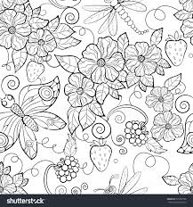 Free Coloring Pages Of Flowers For Adults 1