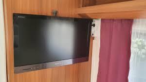 einbau tv halterung im schlafbereich hobby 495 ul 30 tage