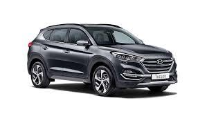 Hyundai tucson se premium thunder grey angle view=Standard