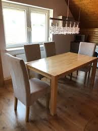 stühle polster dänisches bettenlager stuhl holz creme beige grau