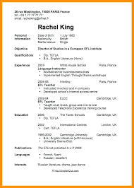 Resume Examples Basic Templates For College Students With No Highschool Canada