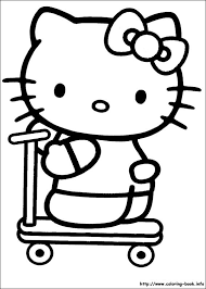 2017 Coloring Hello Kitty Printable Pages At On Book