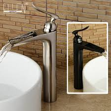 Brushed Nickel Bathroom Faucets Single Hole by Aliexpress Com Buy Brushed Nickel Bathroom Sink Faucet Single