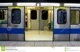 Chinese Subway Train stock image Image of transport underground