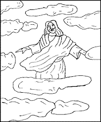 Ascension Of Jesus Christ Coloring Pages 121