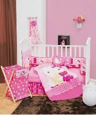 Pink Crib Bedding by Hello Kitty Crib Bedding Ebay