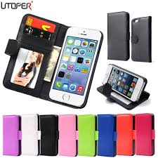 For iPhone 4 Bags Wallet PU Leather Case For Apple iPhone 4 4S 4G