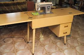 1960 kenmore stylist 86 and original sewing machine cabinet by