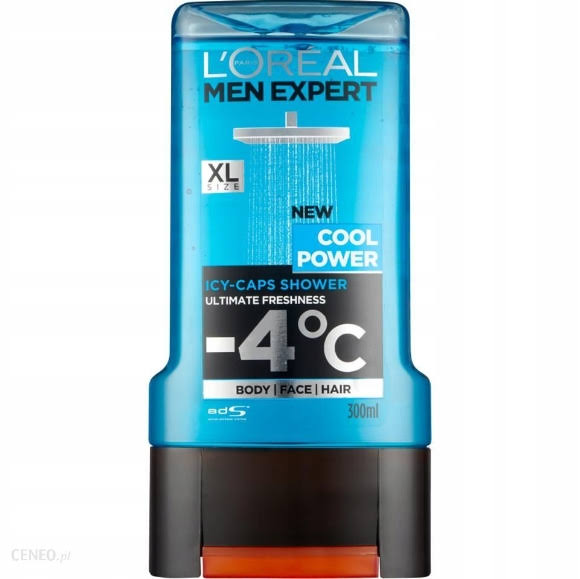 L'oreal Paris Me Shower Gel - Cool Power, 300ml
