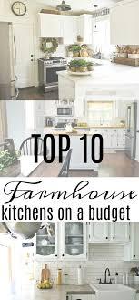 Farmhouse Kitchen Ideas On A Budget Top 10 Kitchens Seeking Lavendar