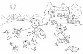 Stunning Kids Summer Coloring Pages With Page