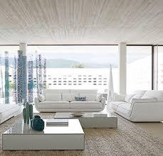 roche bobois canape scenario canapé contemporain en coton 2 places blanc approche by