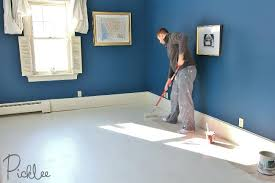 Painting Plywood Subfloor Painted Sub