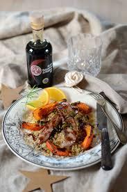 comment cuisiner les aiguillettes de canard aiguillettes de canard à l orange balsamique et courge rôtie