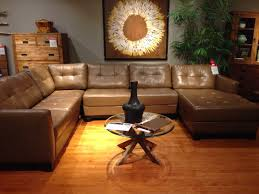 Awesome Martino Leather Sectional Macys For The Home Pinterest
