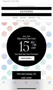 Sephora Targeted Coupon: 15% Off Hair Care Purchase ... Sephora Vib Sale Beauty Insider Musthaves Extra Coupon Avis Promo Code Singapore Petplan Pet Insurance Alltop Rss Feed For Beautyalltopcom Promo Code Discounts 10 Off Coupon Members Deals Online Staples Fniture Coupon 2018 Mindberry I Dont Have One How A Tiny Box Applying And Promotions On Ecommerce Websites Feb 2019 Coupons Flat 20 Funwithmum Nexium Cvs Codes New January 2016 Printable Free Shipping Sephora Discount Plush Animals