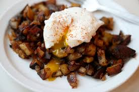 Dinner Tonight Paprika Spiked Home Fries with Poached Egg Recipe