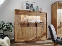 highboard 152x139x44cm rustic wildeiche geölt hirnholz elemente casade mobila