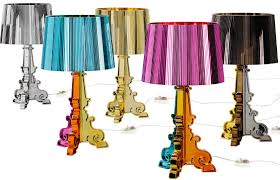 Kartell Bourgie Lamp Silver by Bourgie