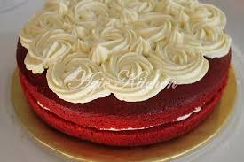 kek velvet yang gebu dan moist azie kitchen