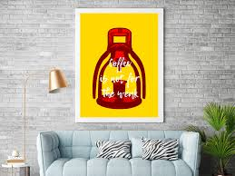 100 Pop Art Home Decor Manual Coffee Machine Printable Download Wall