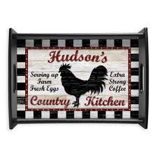 Country Kitchen Handled Serving Tray