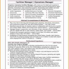 Facilities Manager Resume New Facility Awesome Fresh Grapher Sample