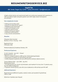 Experienced Rn Resume Great Our Nurse Example Js A46464