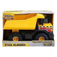 100 Steel Tonka Trucks Classic Mighty Dump Truck Toys Character George