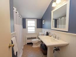 Kohler Memoirs Pedestal Sink 27 by Modern Full Bathroom With Terracotta Tile Floors U0026 Pedestal Sink