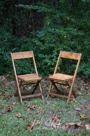 NEW ITEMS: Natural Wood Folding Chairs » Pretty Vintage Event ...