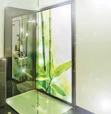 duschrückwand glas mit motiv bedruckt auch led beleuchtet