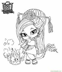 Coloring Pages Baby Bratz To Print