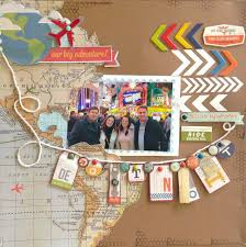 662 best Scrapbooking Vacation Layouts images on Pinterest