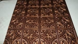 Styrofoam Ceiling Tiles 24x24 by Lot 77 150 Faux Tin Ceiling Tiles 24x24 Antique Copper 17