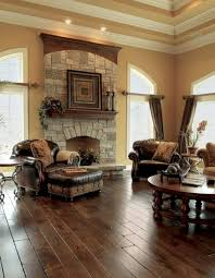 Stunning Rustic Farmhouse Living Room Design Ideas 60