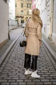 must have for spring beige trench coat street style