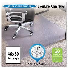 Walmart High Chair Mat by Amazon Com Esr124377 46x60 Rectangle Chair Mat Carpet Chair