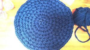 spirale häkeln teppich häkeln