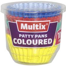 Multix Patty Pans Mini Coloured Image