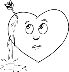 Free Coloring Pages Hearts