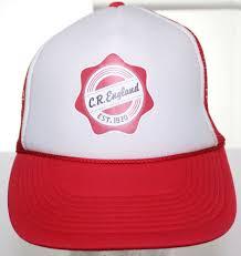 100 Cr Trucking Vintage CR England Inc Company Est 1920 Trucker Hat
