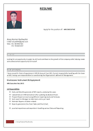 Product Manager Resume Samples Resumes Mis