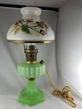 Antique Aladdin Electric Lamps by Mosser Glass Jadeite Oil Lamp Jadeite Pinterest Oil Lamps