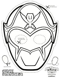 Power Rangers Super Megaforce Coloring Pages Morph Into Action With Free To