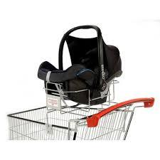 siege caddie bébé cadergo standard 215l support siege auto caddie