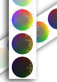 5 Value Color Wheel Print