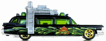 Lemax Halloween Village 2012 by Toys And Stuff Mattel 2012 4071 0910 Ghostbusters Ecto 1