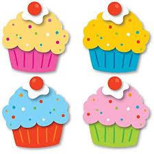 Amazon Carson Dellosa Cupcakes Mini Cut Outs 120196 Office