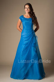 modest prom gowns madison blue